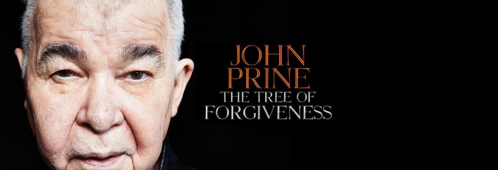 May Singer Songwriter Record of the Month - John Prine - The Tree of Forgiveness (Ltd. Ed. translucent green colored vinyl)