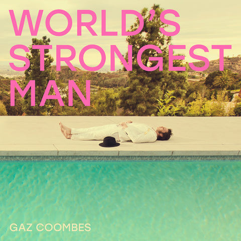 Gaz Coombes - World's Strongest Man (Pink-colored vinyl)