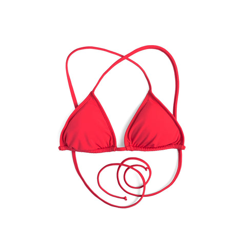 Surf Bikini (Punch Red) - Agos Surf & Swimwear
