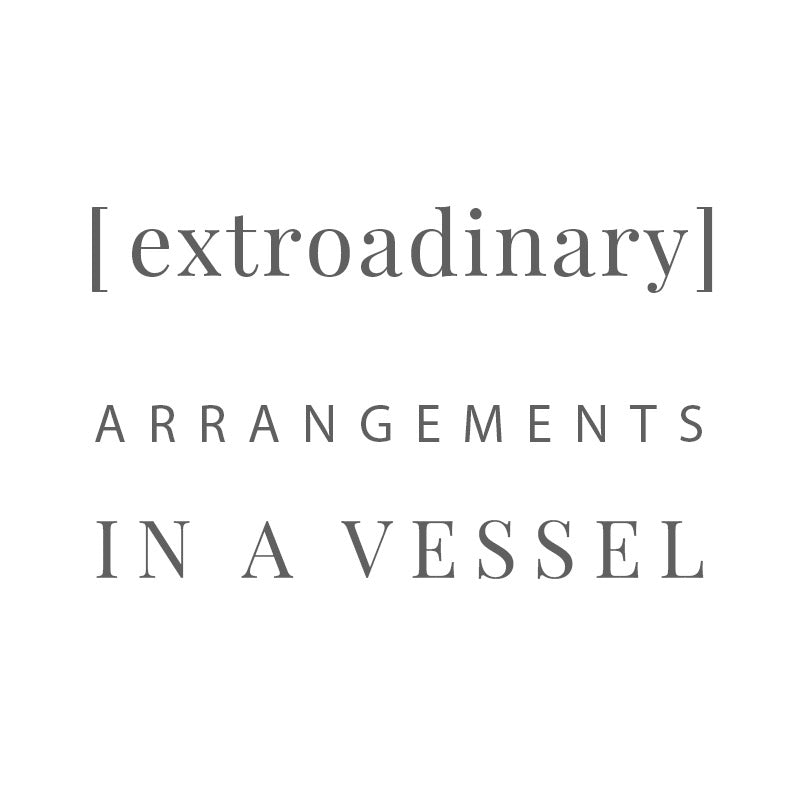 [ extroadinary ] arrangements in a vessel