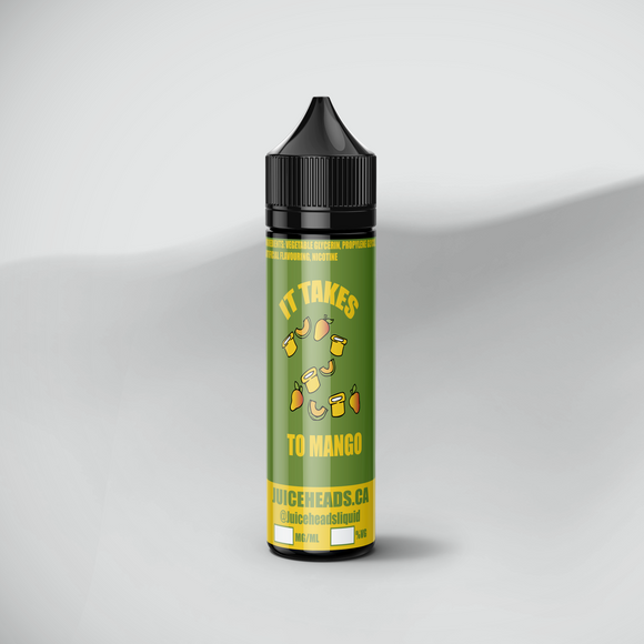 takes two to mango e-juice 60ml bottle