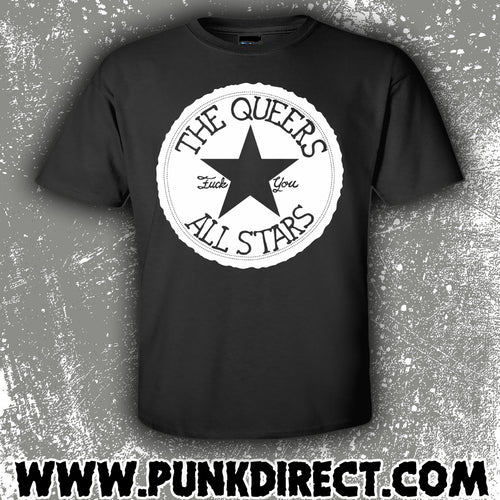 The Queers- All Star T-shirt