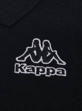 Kappa Mens Omini Navy Pure Pique Cotton Sports Polo Shirt