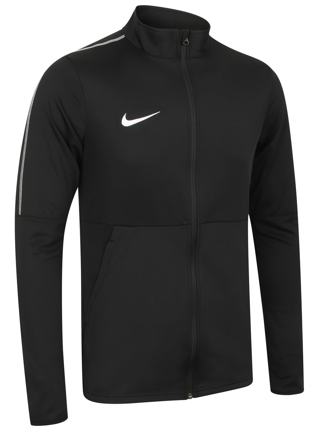 Nike Mens Dry Park 18 Dri-Fit Full Zip Track Jacket - AA2059-010 - Black Front