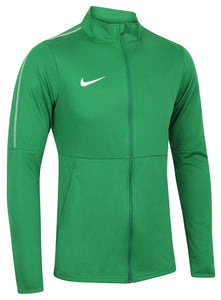 Nike Mens Dry Park 18 Dri-Fit Full Zip Track Jacket - AA2059-302 - Green Front