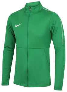Nike Mens Dry Park 18 Dri-Fit Full Zip Track Jacket - AA2059-302 - Green Front Left