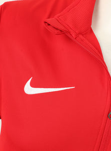 Nike Mens Dry Park 18 Dri-Fit Full Zip Track Jacket - AA2059-657 - Red Logo