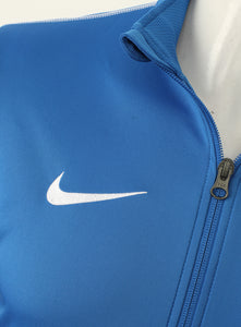 Nike Mens Dry Park 18 Dri-Fit Full Zip Track Jacket - AA2059-463 - Blue Logo