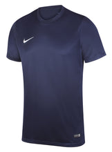Nike Mens Dri-Fit Swoosh Navy Wicking T-Shirt