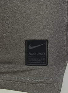 Nike Men's Pro Cool Grey DriFit Compression Long Sleeve Training Top