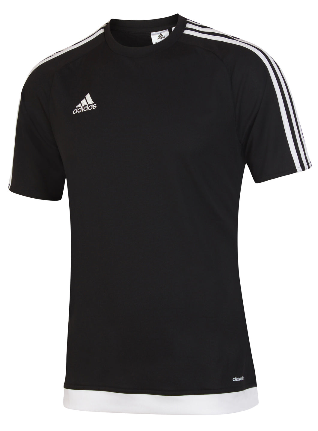adidas Men's Estro 15 Black climalite Crew Training T-Shirt