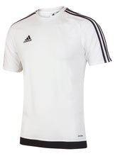 adidas Men's Estro 15 White climalite Crew Training T-Shirt