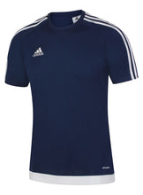 adidas Men's Estro 15 Navy climalite Crew Training T-Shirt