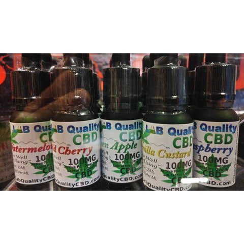 Full Spectrum CBD E-Liquid (Green Leaf)-Lab Quality CBD