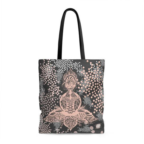 LOTUS Polka Dot Tote Bag
