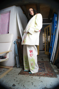 Handpainted Vintage Oversized Suit - ULTRA-CAT