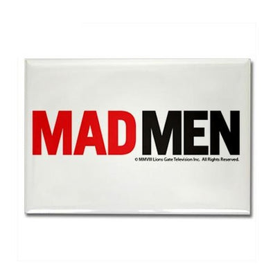 Mad Men Logo Magnet