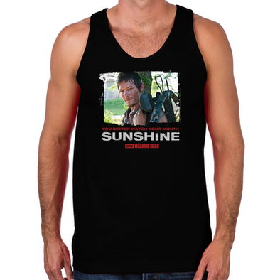 Daryl Dixon Watch Your Mouth Men's Tank