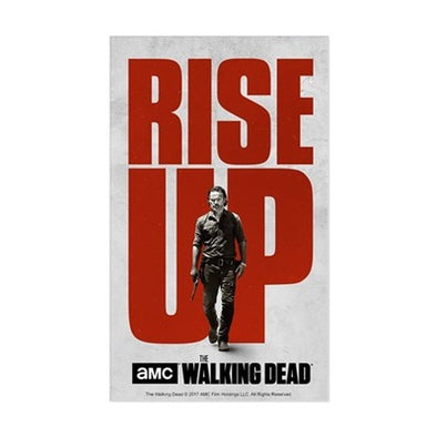 Rise Up Walking Dead Sticker