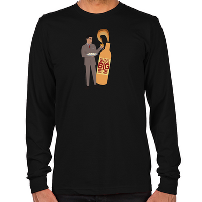 Mad Men Salvatore Long Sleeve T-Shirt