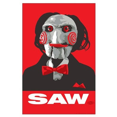 Saw Clown Large Poster