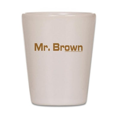 Mr. Brown Shot Glass