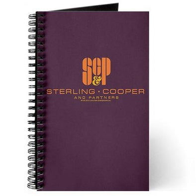 SCP Mad Men Logo Journal