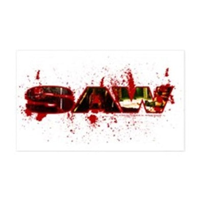 Saw Bloody Saw Sticker