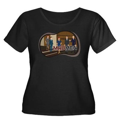 Sterling Cooper Mad Men Women's Plus Size T-Shirt