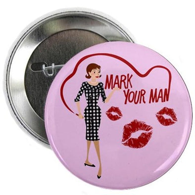 "Mad Men Peggy 2.25"" Button"