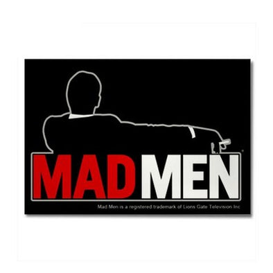 Mad Men Truth Lies Magnet