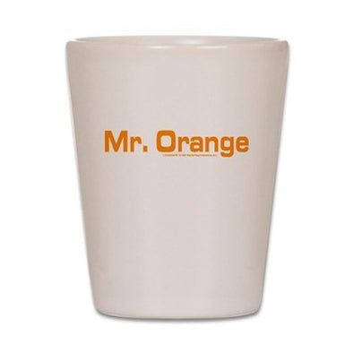 Mr. Orange Shot Glass