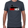 Mad Men Truth Lies Fitted T-Shirt
