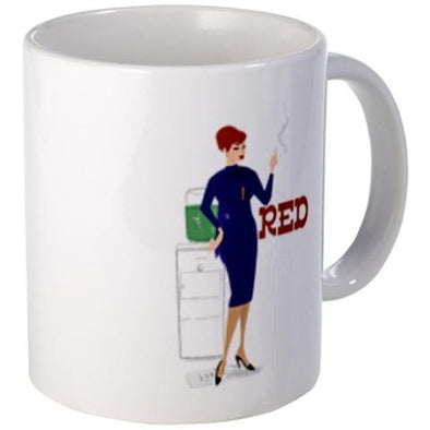 Mad Men Red Mug