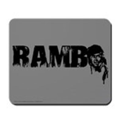 R is for Rambo Mousepad