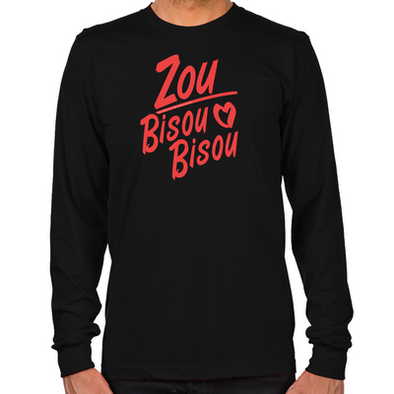 Zou Bisou Bisou Long Sleeve T-Shirt