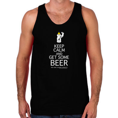 Keep Calm and  Get Some Beer Men's Tank
