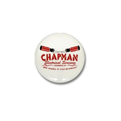 Chapman's Electrical Services Mini Button