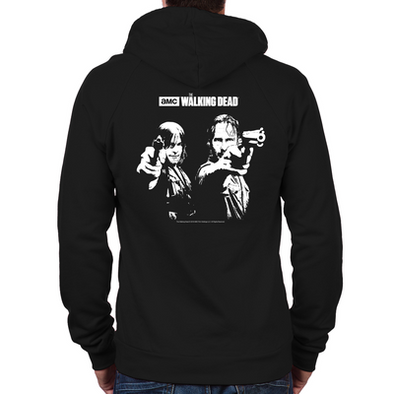 Walking Dead Saints Zip Hoodie