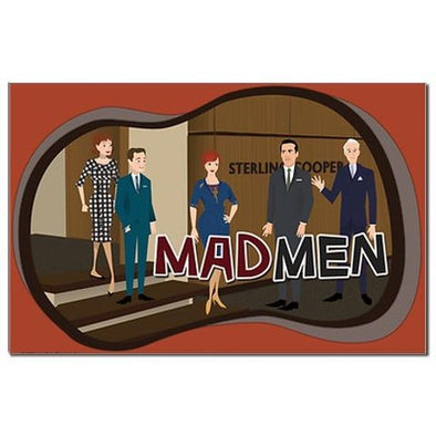 Sterling Cooper Mad Men Mini Poster Print
