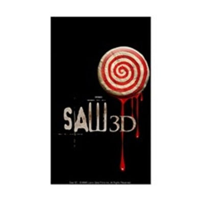 Saw 3D Sticker
