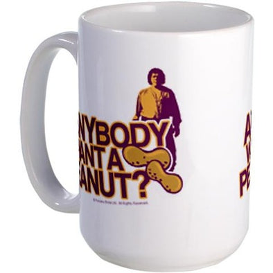 Anybody Want a Peanut Large Mug