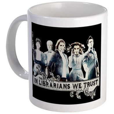 In The Librarians We Trust Mug
