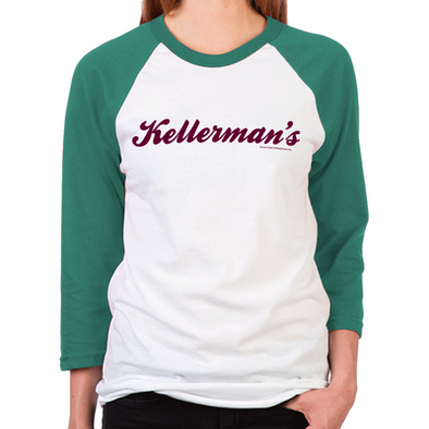 Dirty Dancing Kellerman's Women's Baseball T-Shirt