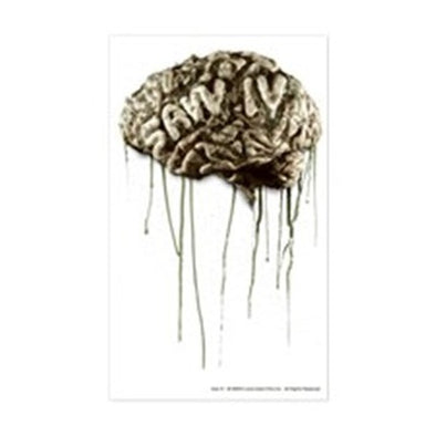 Saw Brain Sticker