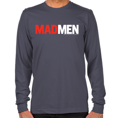 Mad Men Logo Long Sleeve T-Shirt