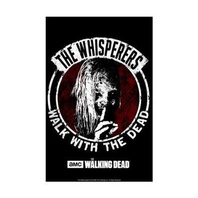 The Whisperers Walk With The Dead Mini Poster Print