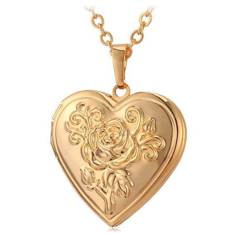 Monia Vintage Heart Necklace