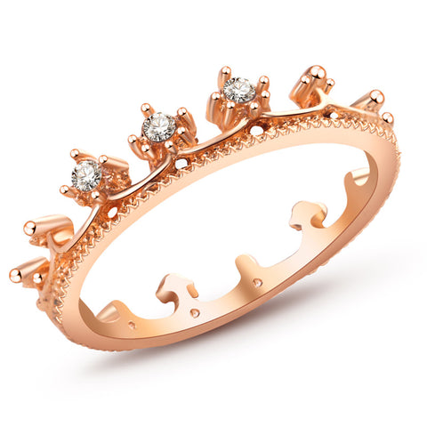 WOO LOO FASHION-Louis Crown Ring