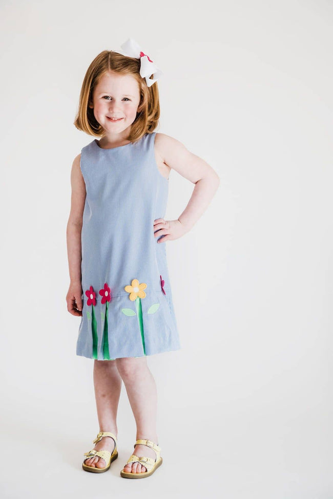 Dress with Pop-Up Flowers